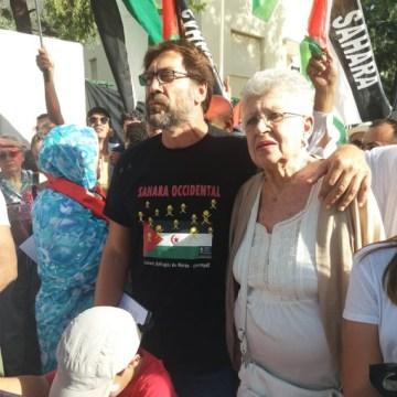 Pilar Bardem, la actriz que se avergonzó del Gobierno y del jefe del Estado por abandonar al pueblo saharaui   Contramutis