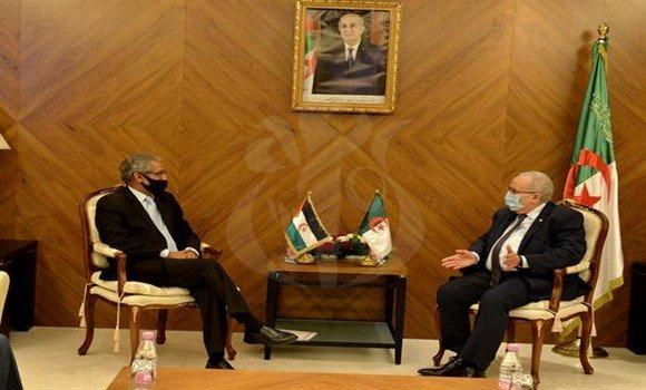 El Ministro de Exteriores saharaui se reúne con su homólogo argelino y pide a la ONU y la UA presionar a Marruecos | Sahara Press Service