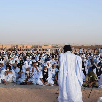 Los discursos religiosos de Eid Al-Adha se centran sobre la importancia de la estabilidad social y el rechazo de la discordia | Sahara Press Service