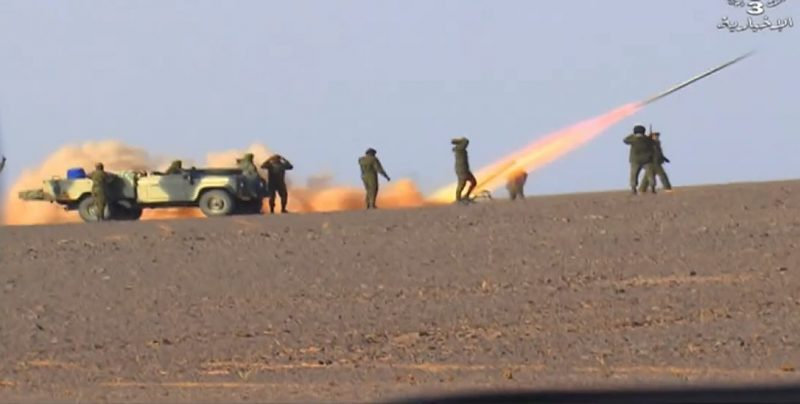El ELPS bombardea posiciones de las FAR a lo largo del muro militar marroquí | Sahara Press Service
