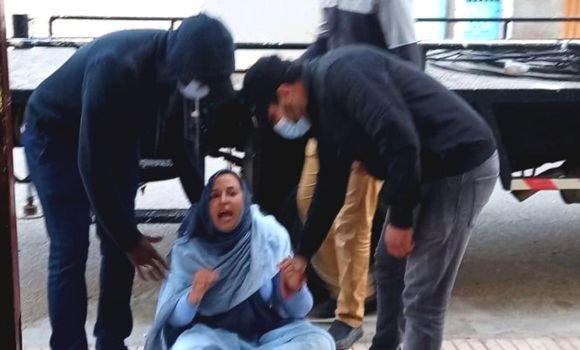 Las fuerzas de represión marroquí agreden a la activista saharaui Sultana Jaya   Sahara Press Service