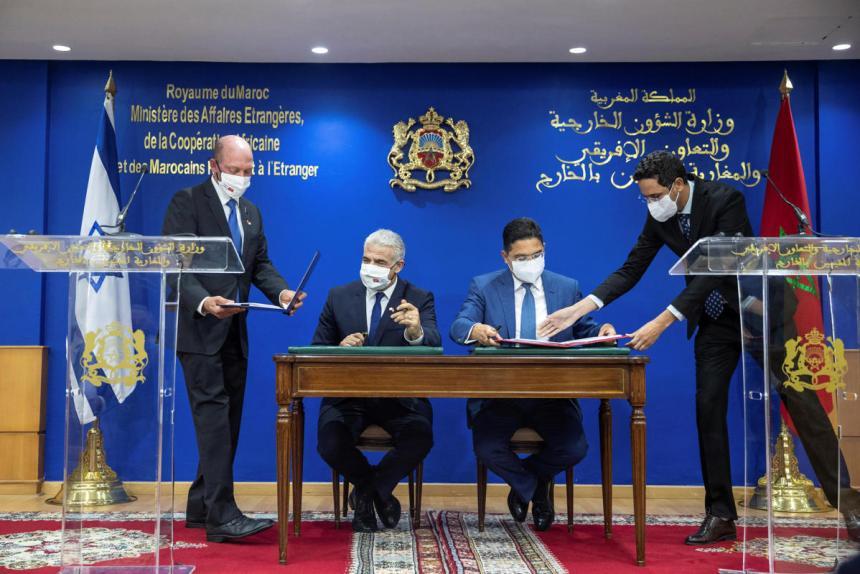 Marruecos e Israel canjean sus ocupaciones territoriales para desarrollar sus relaciones