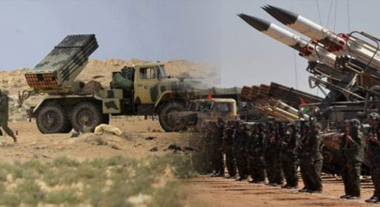 Las fuerzas saharauis atacan de nuevo posiciones enemigas a lo largo del muro militar marroquí | Sahara Press Service