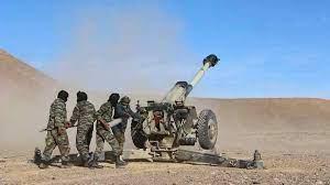 El ELPS prosigue con sus bombardeos a posiciones enemigas a lo largo del muro militar marroquí | Sahara Press Service