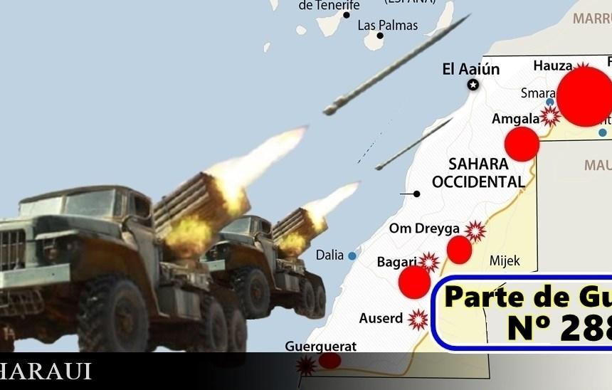 GUERRA EN EL SAHARA   Parte de Guerra Nº265