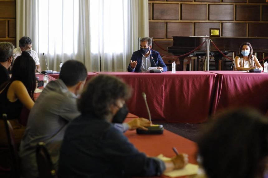 La Comisión sobre el Sáhara Occidental se reúne para recabar información sobre la situación de los campamentos de refugiados. Noticia. Ayuntamiento de Zaragoza