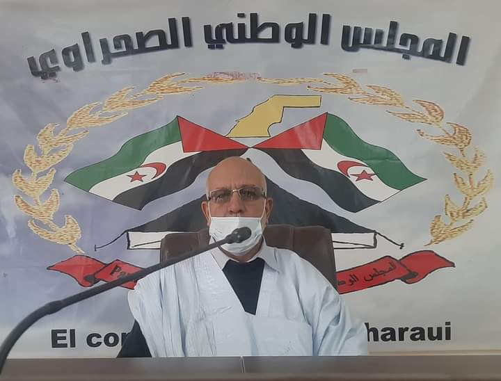 Presidente del Consejo Nacional Saharaui exige preparación y responsabilidad ante el excepcional estado de guerra