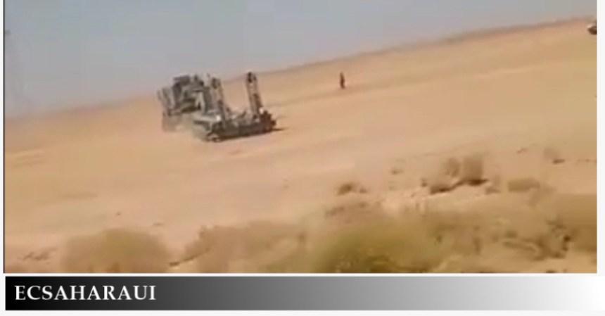 Aumenta la tensión en la frontera entre Argelia y Marruecos por la presencia de tropas (fotos y videos)