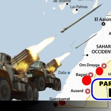 GUERRA EN EL SAHARA   Parte de Guerra Nº 319
