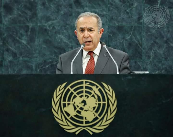 UNGA: Argelia rechaza que la solución al problema saharaui siga siendo rehén de la intransigencia marroquí