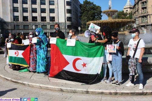 Más de 300 días de asedio marroquí a la casa de la familia saharaui Jaya – Ecuador Etxea