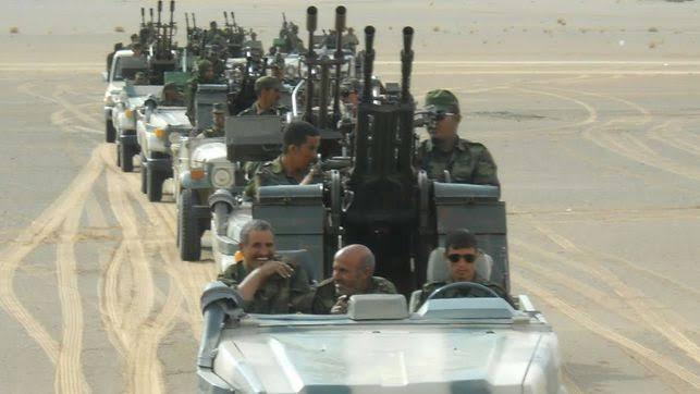 El Ejército saharaui afirma haber atacado el cuartel del 43º Cuerpo de las FAR marroquíes en Mahbes