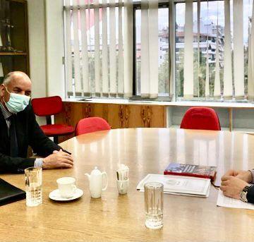 Grecia: Un enviado de las autoridades saharauis, Amyih Ammar, es recibido por el Partido Comunista – Algaragarat ES