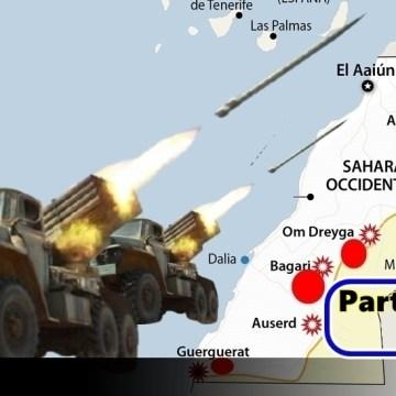 Parte de Guerra Nº 296. Guerra del Sáhara Occidental.