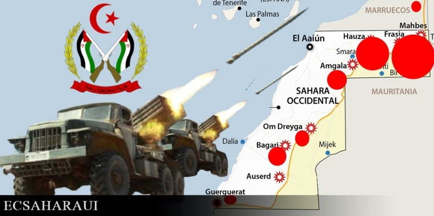 GUERRA EN EL SAHARA   Parte de Guerra Nº 328