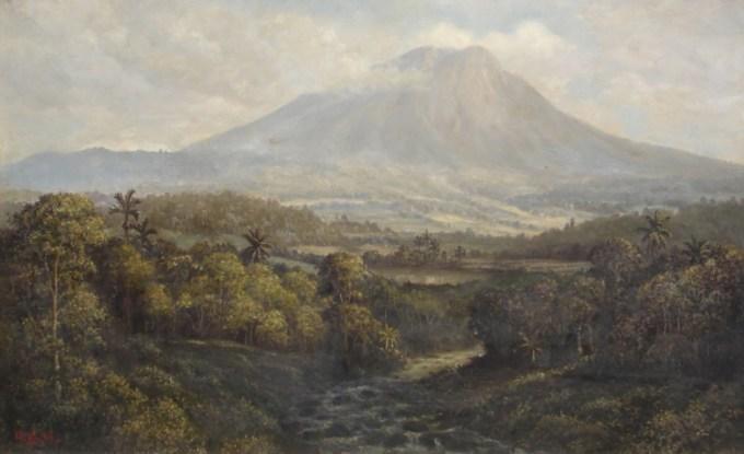 pelukis terkenal indonesia Abdullah Suriosubroto