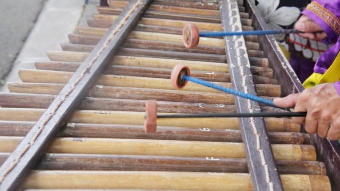 alat musik tradisional sunda jawa barat calung