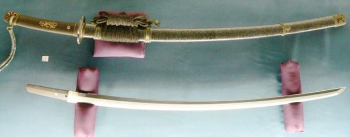 tachi merupakan salah satu jenis pedang jepang