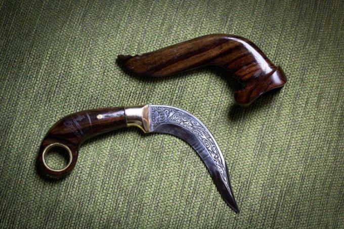 Senjata tradisional minang