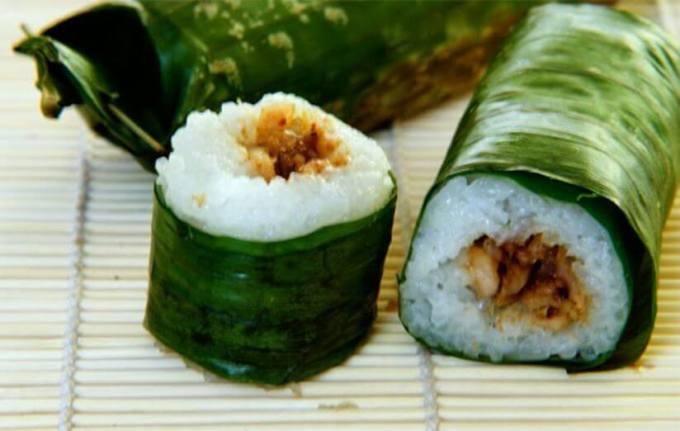 lemper merupakan makanan dari beras ketan