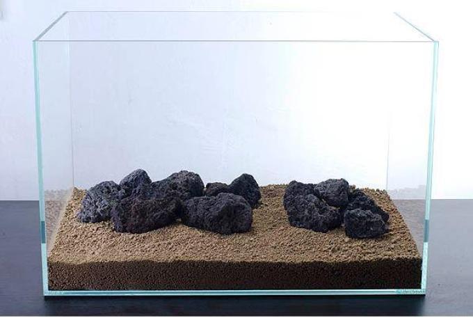 aksesoris dasar aquascape
