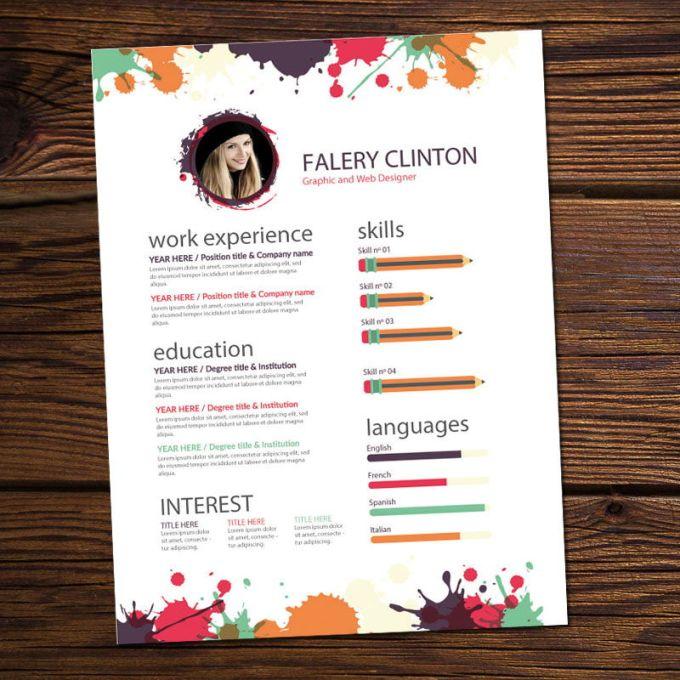 Contoh CV Kreatif bahasa Indonesia