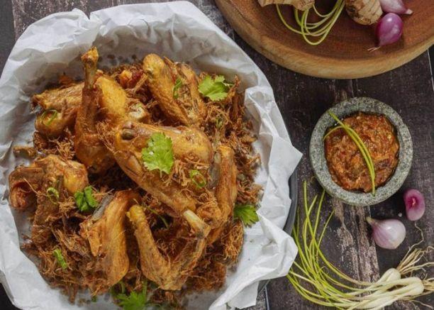 resep dan cara membuat ayam goreng Ungkep