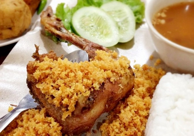 Resep dan Cara Membuat Resep Ayam Kremes Suharti