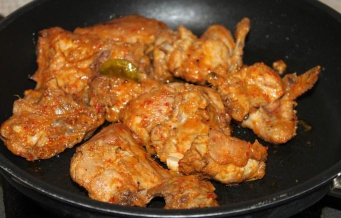 Cara membuat dan Resep Ayam Panggang Bumbu Rujak