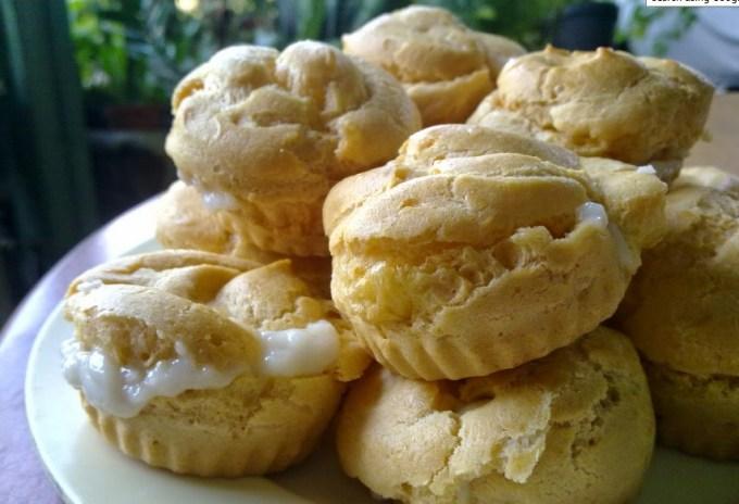 Cara membuat dan Resep Kue Sus Isi Vla