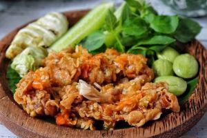 cara membuat dan resep ayam geprek pedas