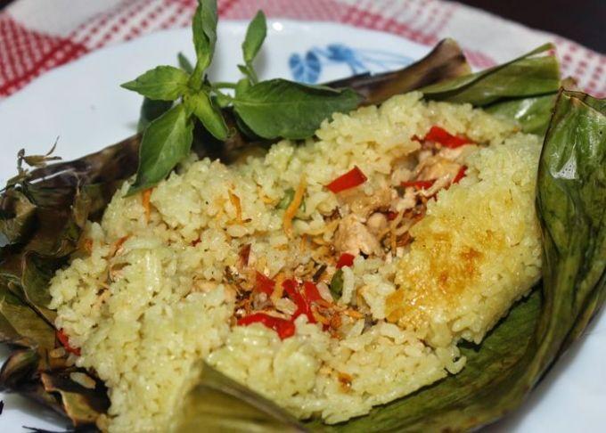 cara membuat dan resep nasi bakar spesial