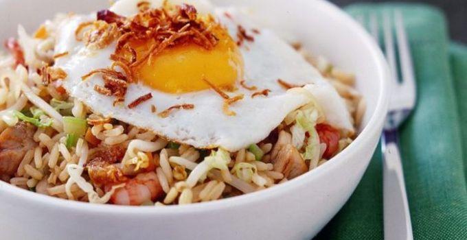 cara membuat dan resep nasi goreng jawa