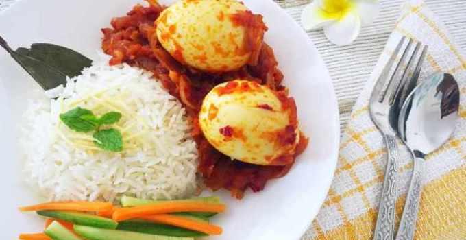 cara membuat dan resep nasi uduk rice cooker
