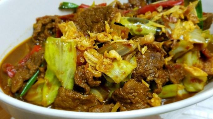Cara Membuat dan Resep Tongseng Daging Sapi Pedas