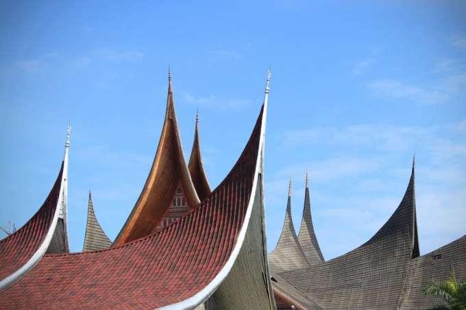 Bagian Atap Rumah Gadang