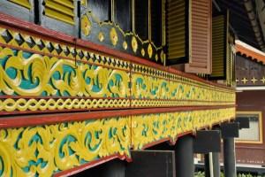 Ukiran Rumah Adat Aceh