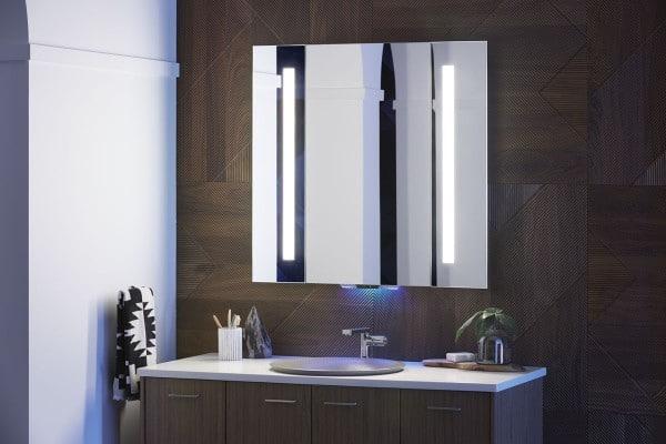 desain kamar mandi minimalis rak ekstra