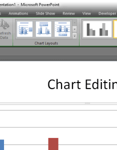 Switch row column active also grayed out for  chart in powerpoint rh notesdezine