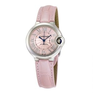 Cartier Ballon Bleu de Cartier Pink and Alligator