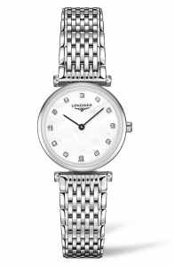 La Grande Classique De Longines Diamond Bracelet Watch