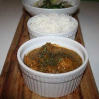 Dhaba Chicken Curry or North Indian Roadside Stall Style Chicken Curry