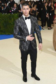 Nick Jonas in Ralph Lauren