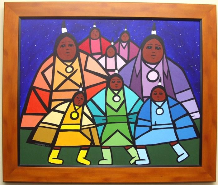 Photographie de Jerry Whitehead, Native Women (2002)