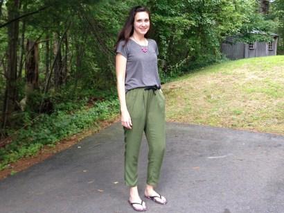 Alexandria Peg Trousers