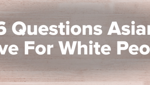 Questions Asian People Have for White People