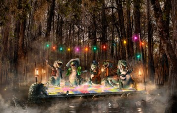 The Cagun Night Before Christmas, Bayou, CGI, Personal project