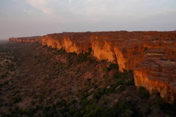 Bandiagara Plateau Begnemato Village Dogon Country Mali