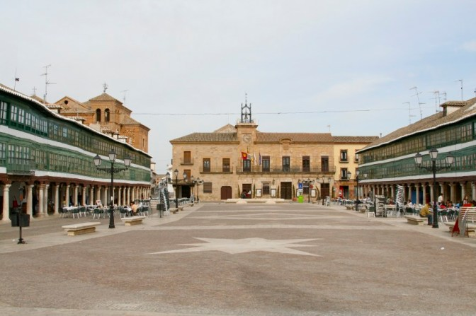Plaza Mayor, Almagro, Castilla-La Mancha, Spain