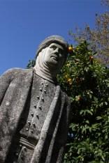 Islamic leader statue, Cordoba, Andalusia, Spain